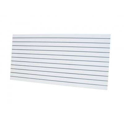 Slat Panel 1200x2400, 100mm White