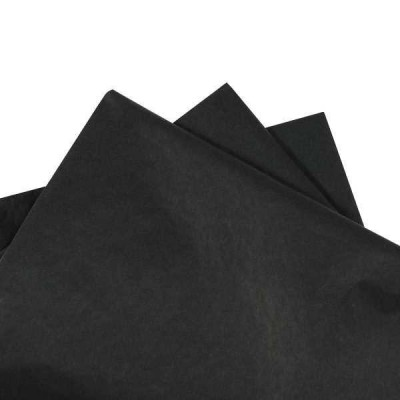 Tissue Paper Black 500x760mm(480 sheets ream)