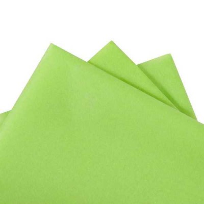 Tissue Paper Lime 500x760mm(480 sheets ream)