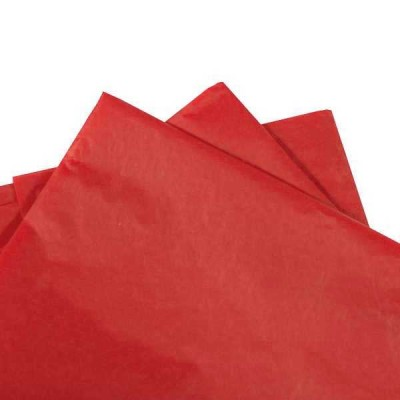 Tissue Paper Red 500x760mm(480 sheets ream)