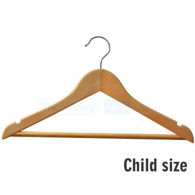 Child Wood Shirt Hanger