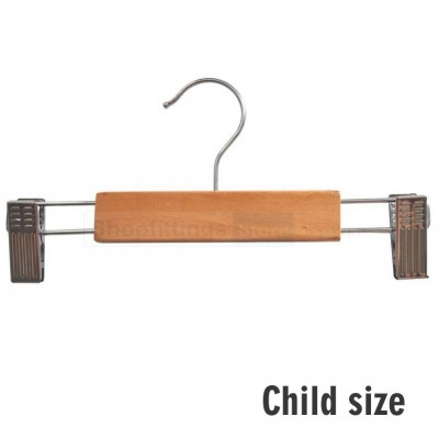 Child Wood Clip Hanger
