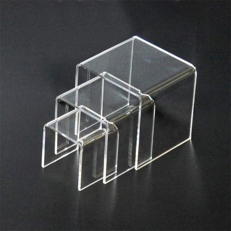 Acrylic Stepped Riser - Set of 3 Small
