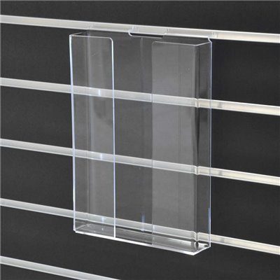 Acrylic Slat wall Brochure Holder