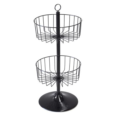 Spin-X Counter Basket Stand