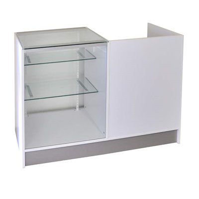 KIOSK Counter Glass Showcase Combination 500(D)x950(H)