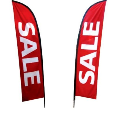 "Outdoor ""SALE"" - POLYESTER Sale Flag ONLY"