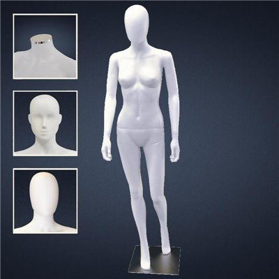 FASHION Female Mannequin SF2 - No Finish White