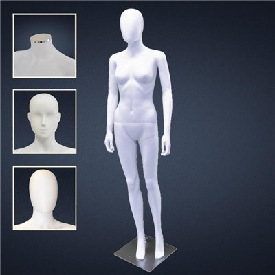 FASHION Female Mannequin SF6 - No Finish White