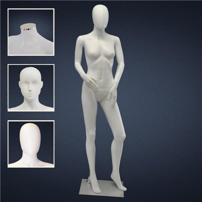 FASHION Female Mannequin SF4 - No Finish White