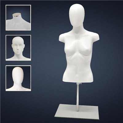 FASHION Female TORSO F2 - No Finish White