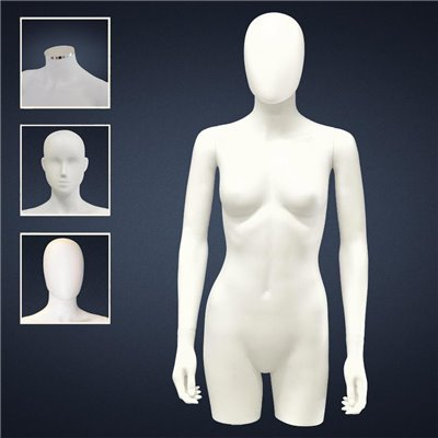 FASHION Female TORSO SDC2 - No Finish White