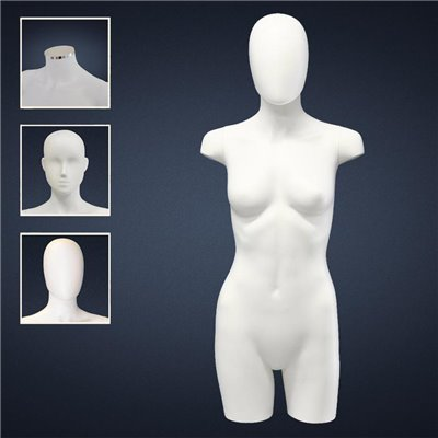 FASHION Female TORSO SDC3 - No Finish White