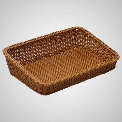 Grocery Display Side Slanting Basket Square
