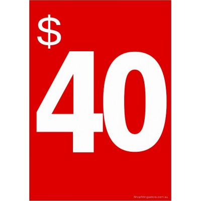 $40 - Sign Cards - 5 Pack