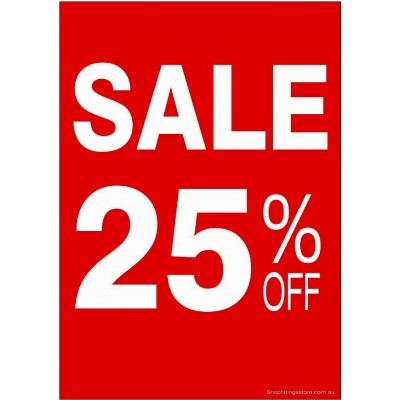 """SALE 25% OFF"" - Sign Cards - 5 Pack"