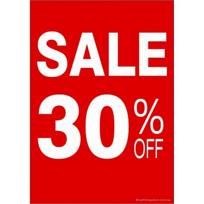 """SALE 30% OFF"" - Sign Cards - 5 Pack"