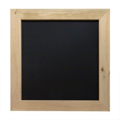 LARGE Timber Framed Black board 800x800