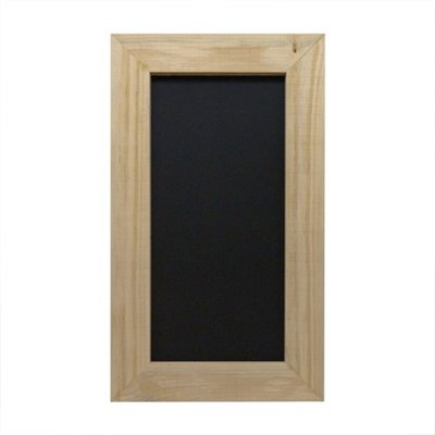 RECTANGULAR Timber Framed Black board 600X1200