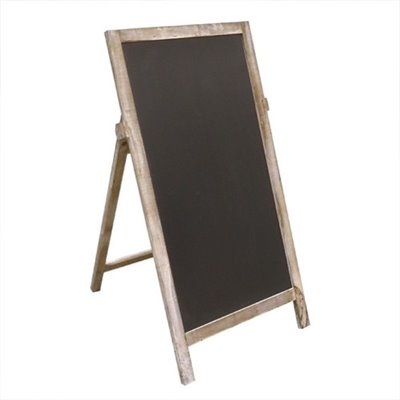 MEDIUM Wooden A-Frame Black board