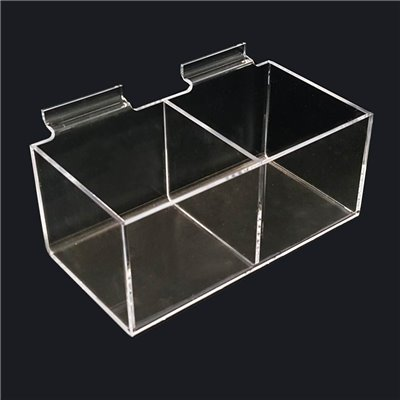 Slatwall Acrylic display 2 boxes