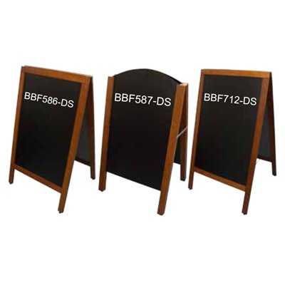 Double Sided A-Frame Blackboards