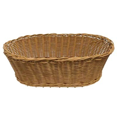 Grocery Display Oval Wicker Basket