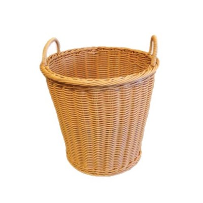Grocery Display Basket Round TALL with Handles
