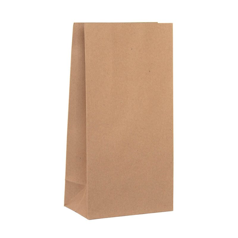 Grocery brown paper bag 2 130 x 260mm no handles (pack 500)