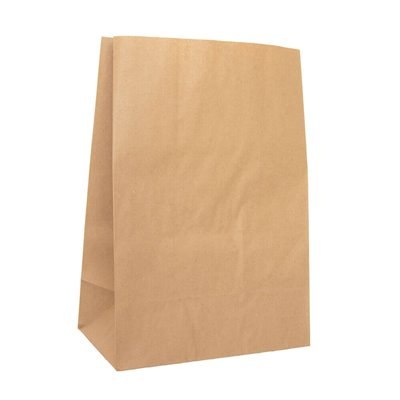 Grocery brown paper bag 5 300 x 430mm no handles (pack 250)