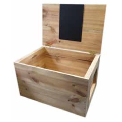 Grocery Display Aged Wooden Chest 560x380x325 mm