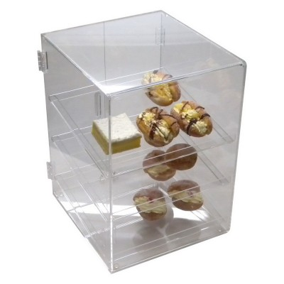 Acrylic 3 Shelf Bakery Case