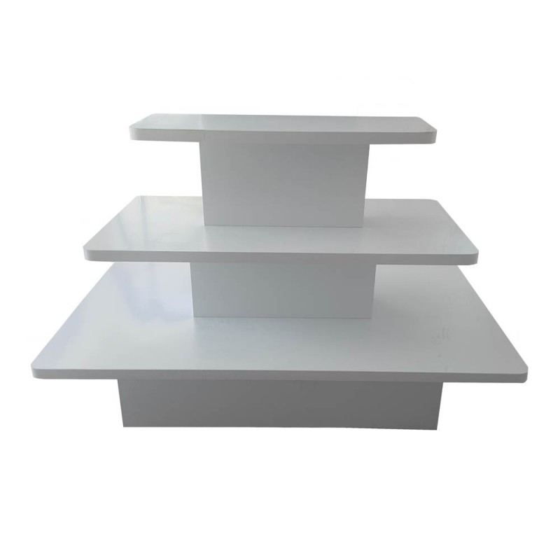 3 Tier Merchandising Display Table 1680x1060x1000mm