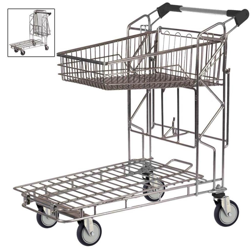 Warehouse Shopping Trolley