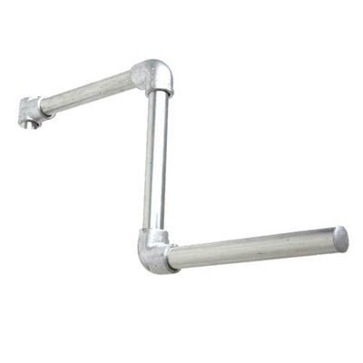 Industrial Straight Arm for tube Galvanised