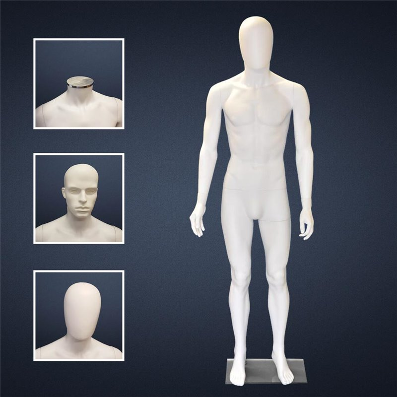 FASHION Mannequin Male SM1 White
