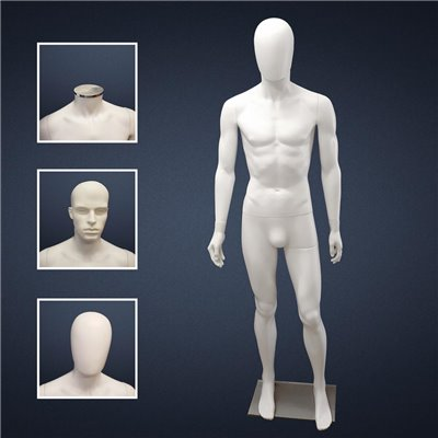 FASHION Mannequin Male SM2 White