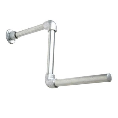 Industrial Stepped Arm for Wall Galvanised