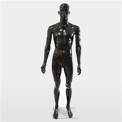 FASHION Mannequin Male SM1 Black Gloss