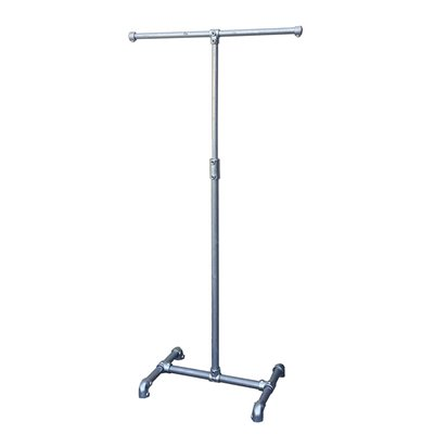 Industrial 2 Way Clothes Rack Adjustable Galvanised