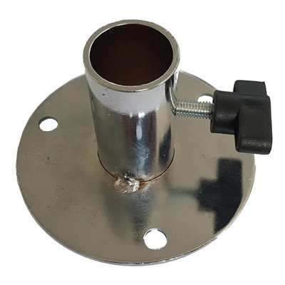Metal Flange for Torso to suit 25mm pole