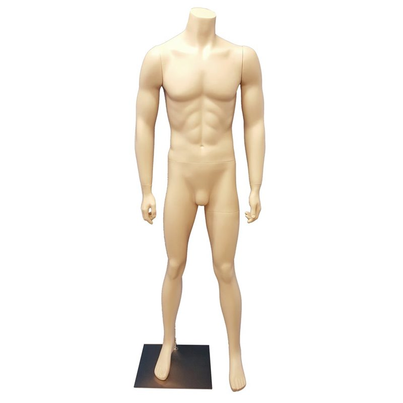 Male Headless Mannequin MM151S Skin