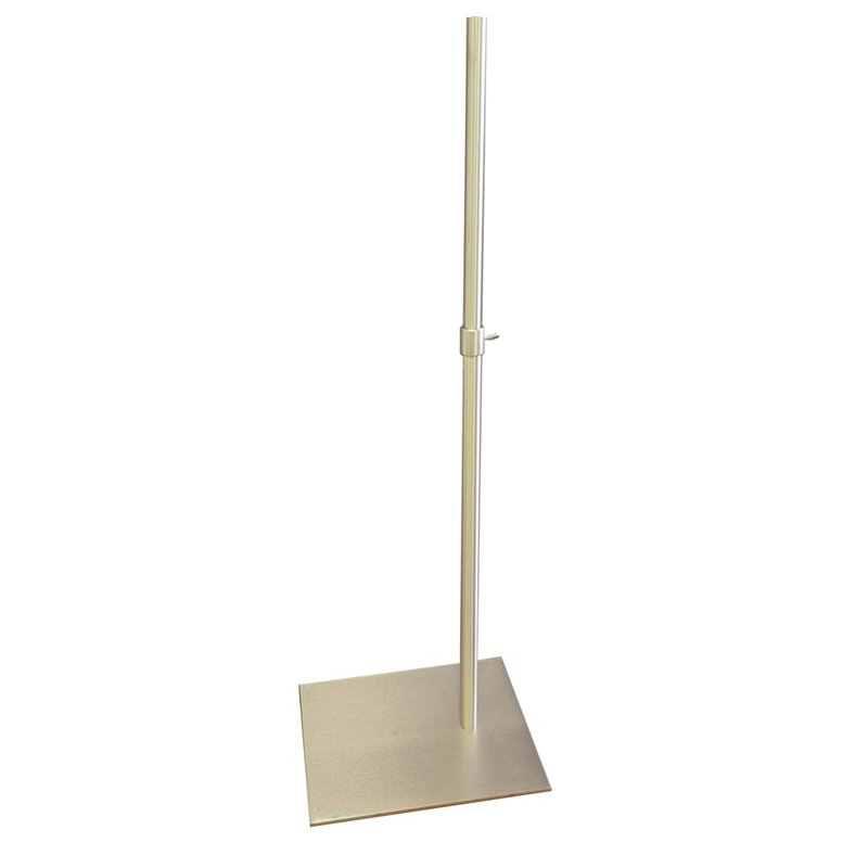 Very Heavy Duty Metal Base with pole for Torsos