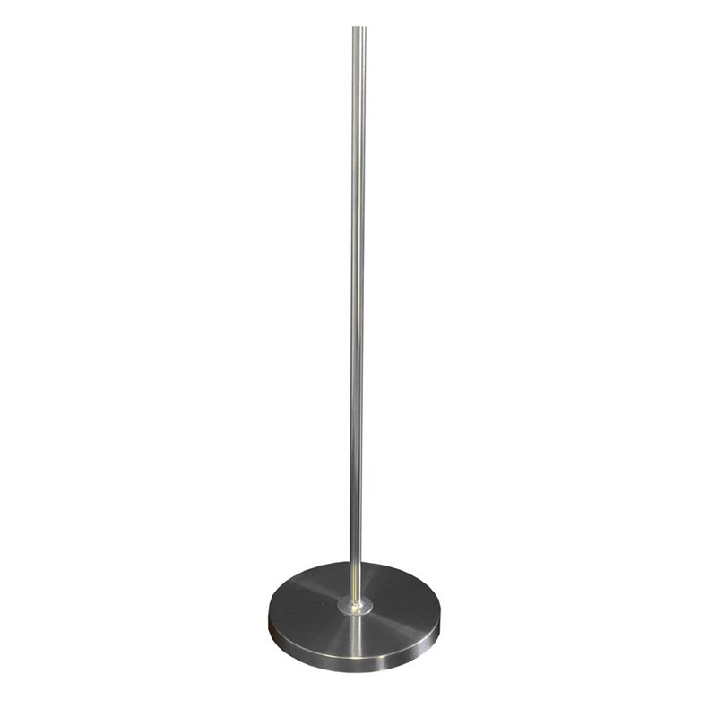 Round Metal Base with pole for Plastic Torso