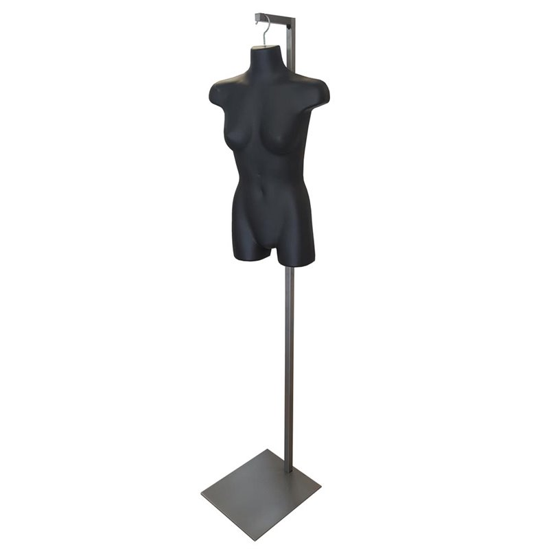 Floor stand for hanging Torsos and Body Forms
