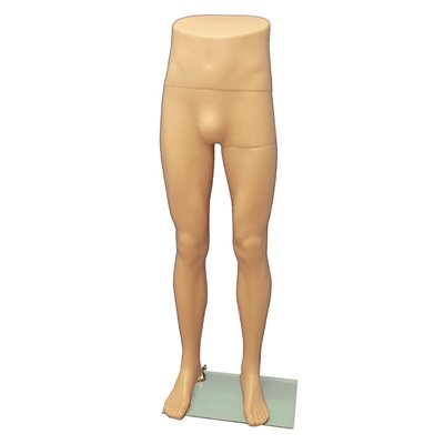 Fashion Male Leg Mannequin MH1 Skin
