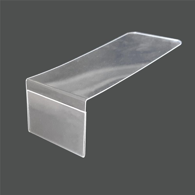L shaped Acrylic Sign Holder 40 x 29mm