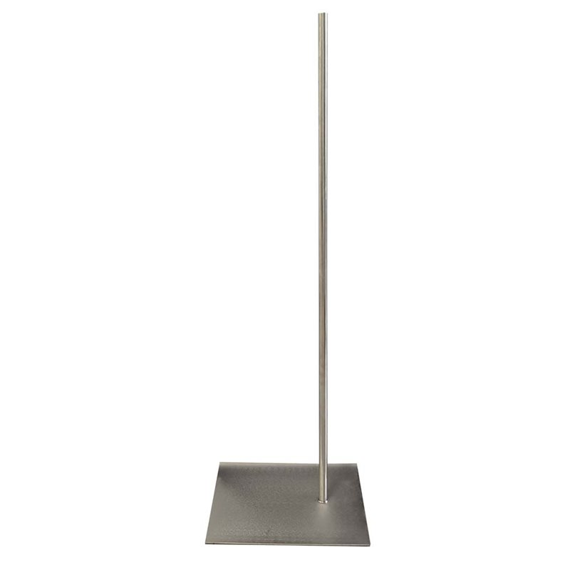 METAL Flat Base with pole for Torso