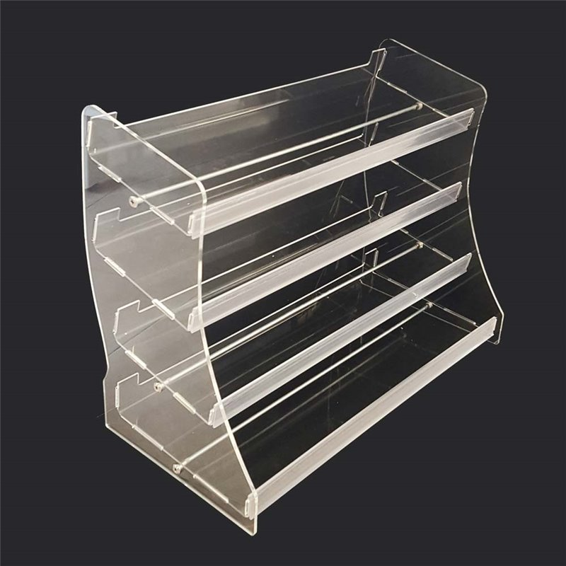 Acrylic 4 Level Counter Display Large