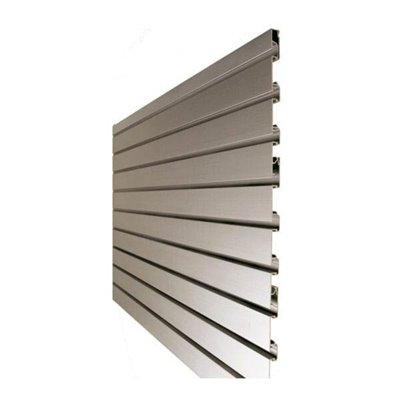 Aluminium Slat Wall Panel 50mm Groove Spacing